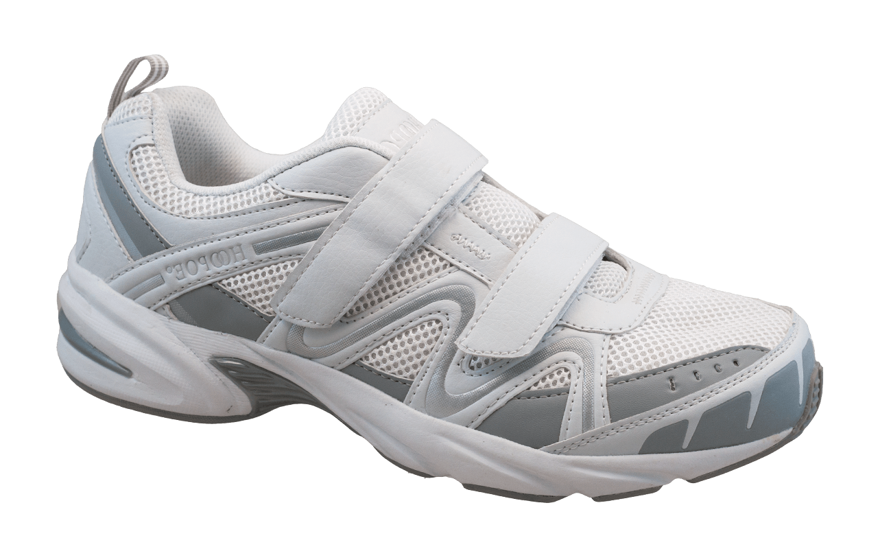 Athletic shoes with arch support